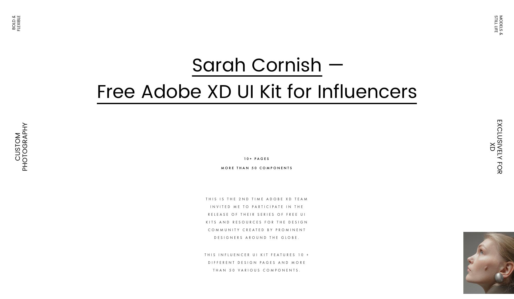 时尚影响者用户界面UI套件插图1