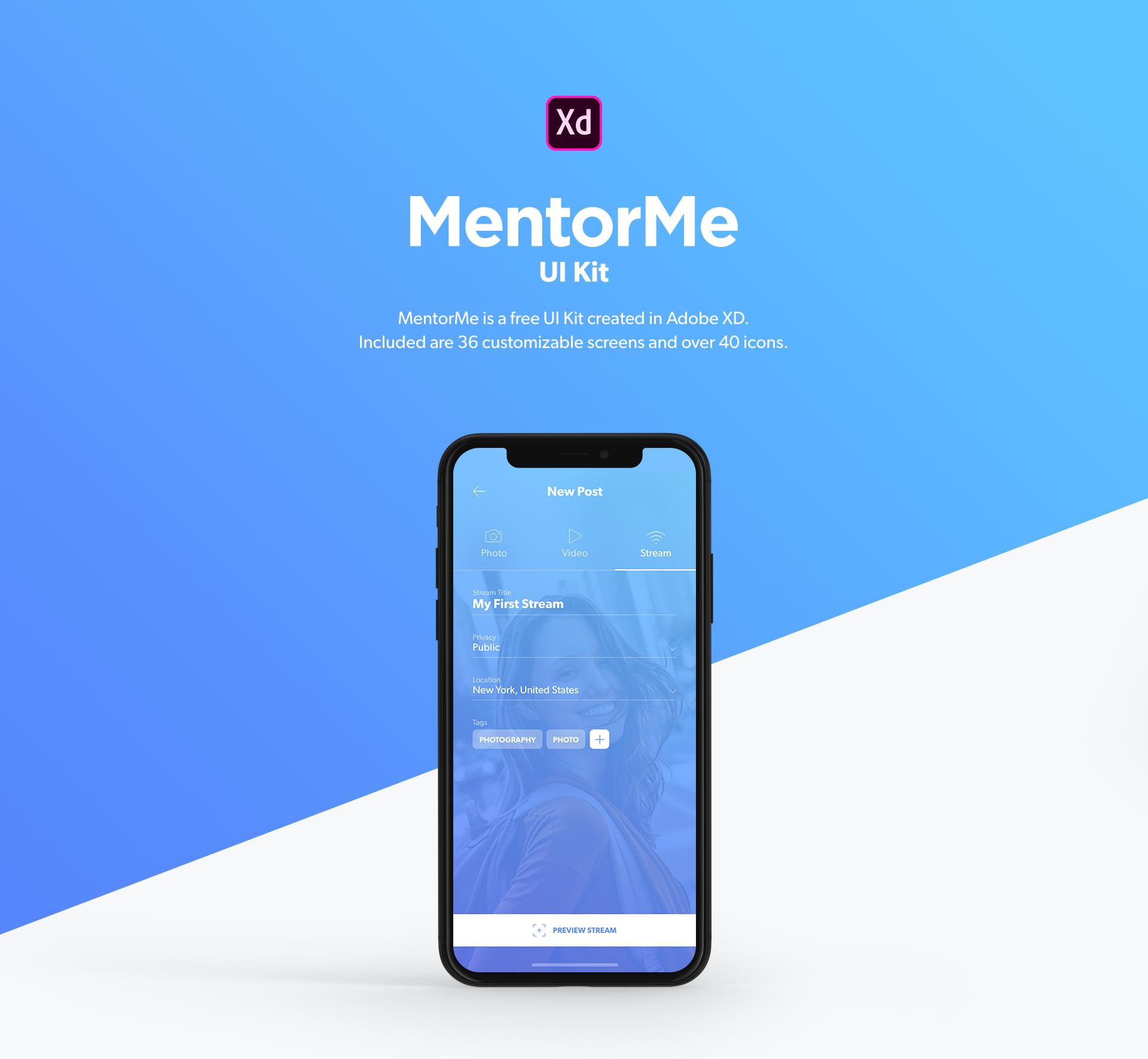 Mentome用户界面UI套件插图