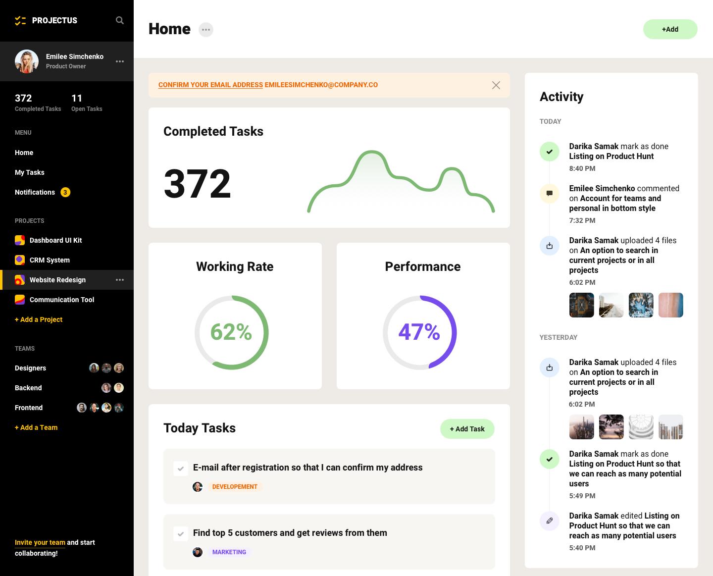 项目管理工具UI工具包插图2