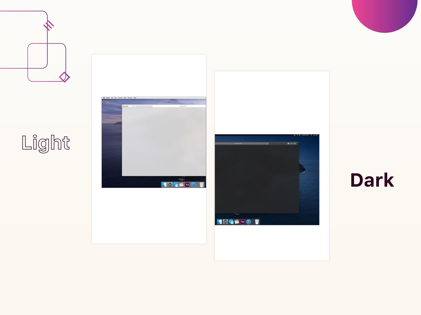 适用于Adobe XD的MacOS Catalina GUI设计模板插图2