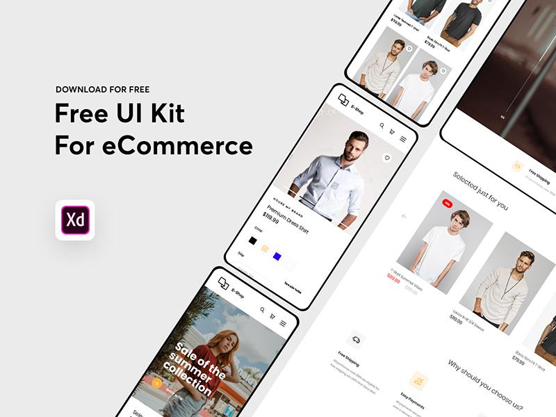 电子商务App应用设计模板插图