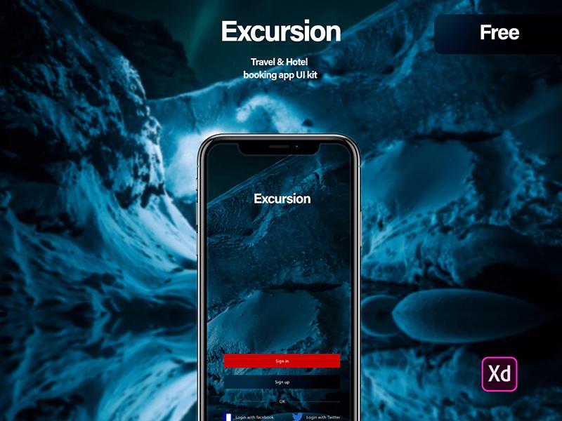 酒店预订App应用程序设计套件插图