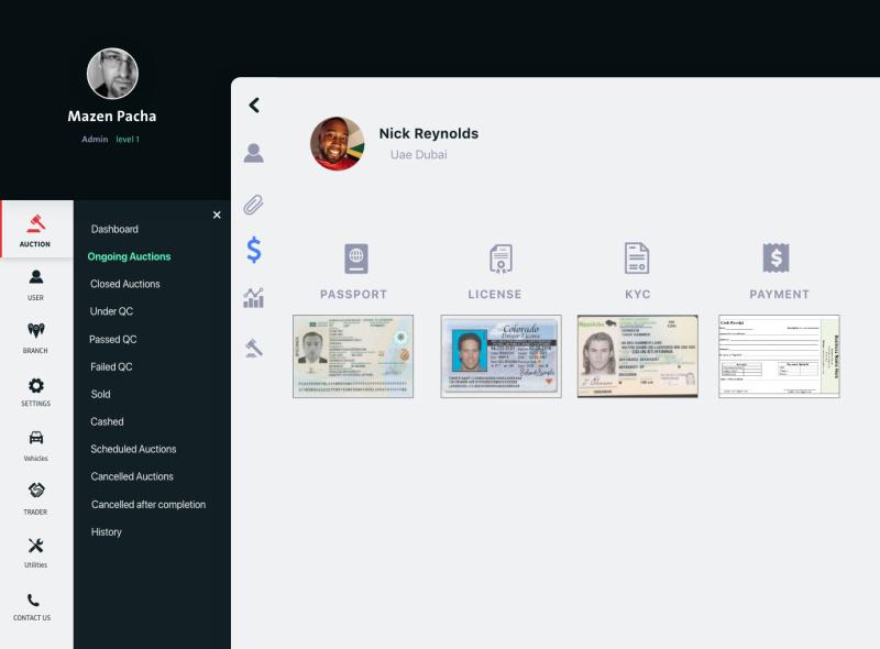 拍卖仪表盘用户界面UI套件插图6