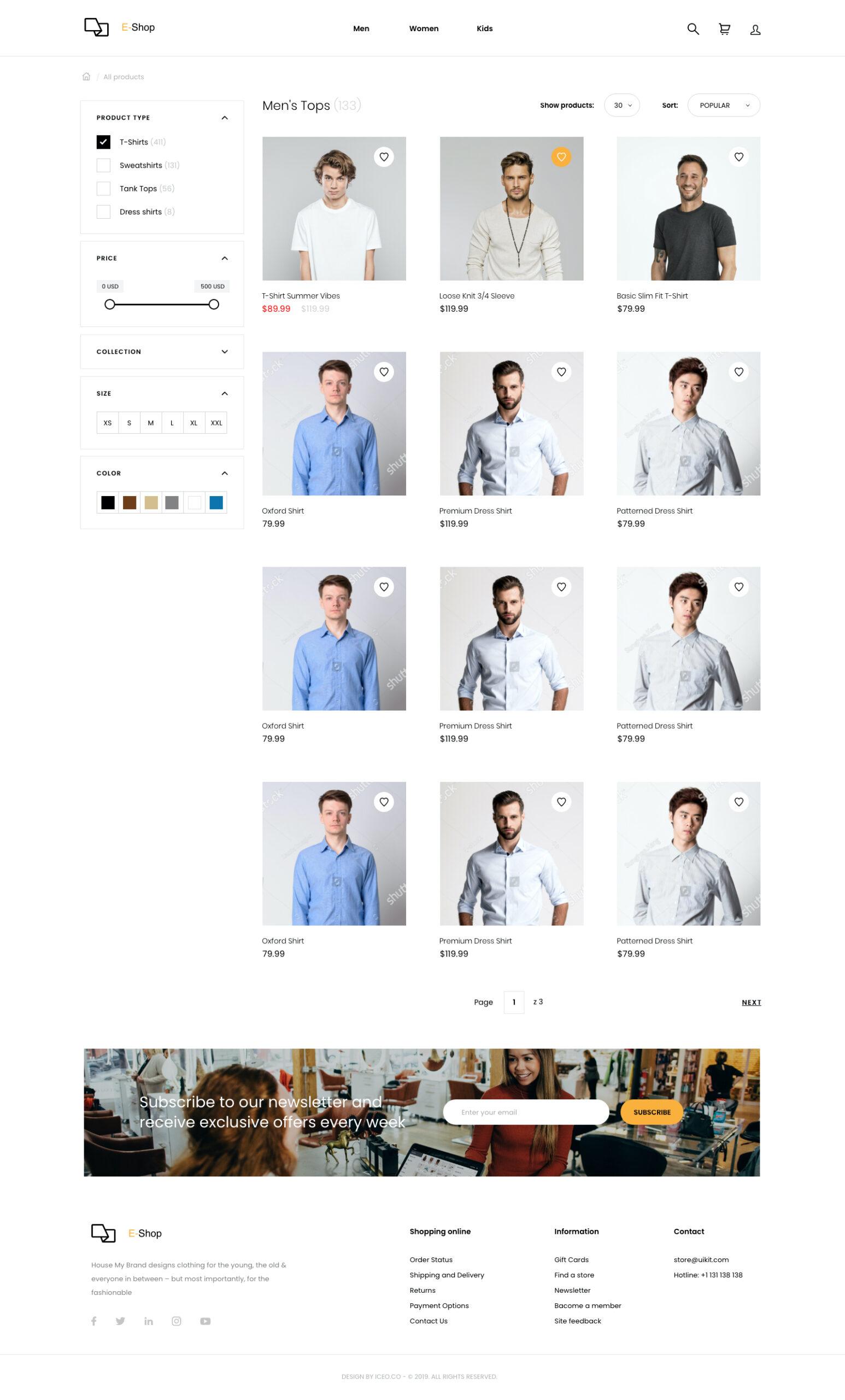 响应式电子商务用户界面套件插图3