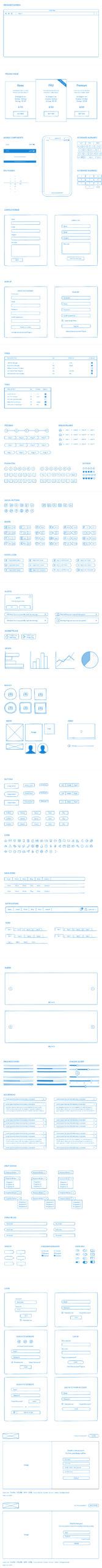 手工草图APP线框图UI套件插图