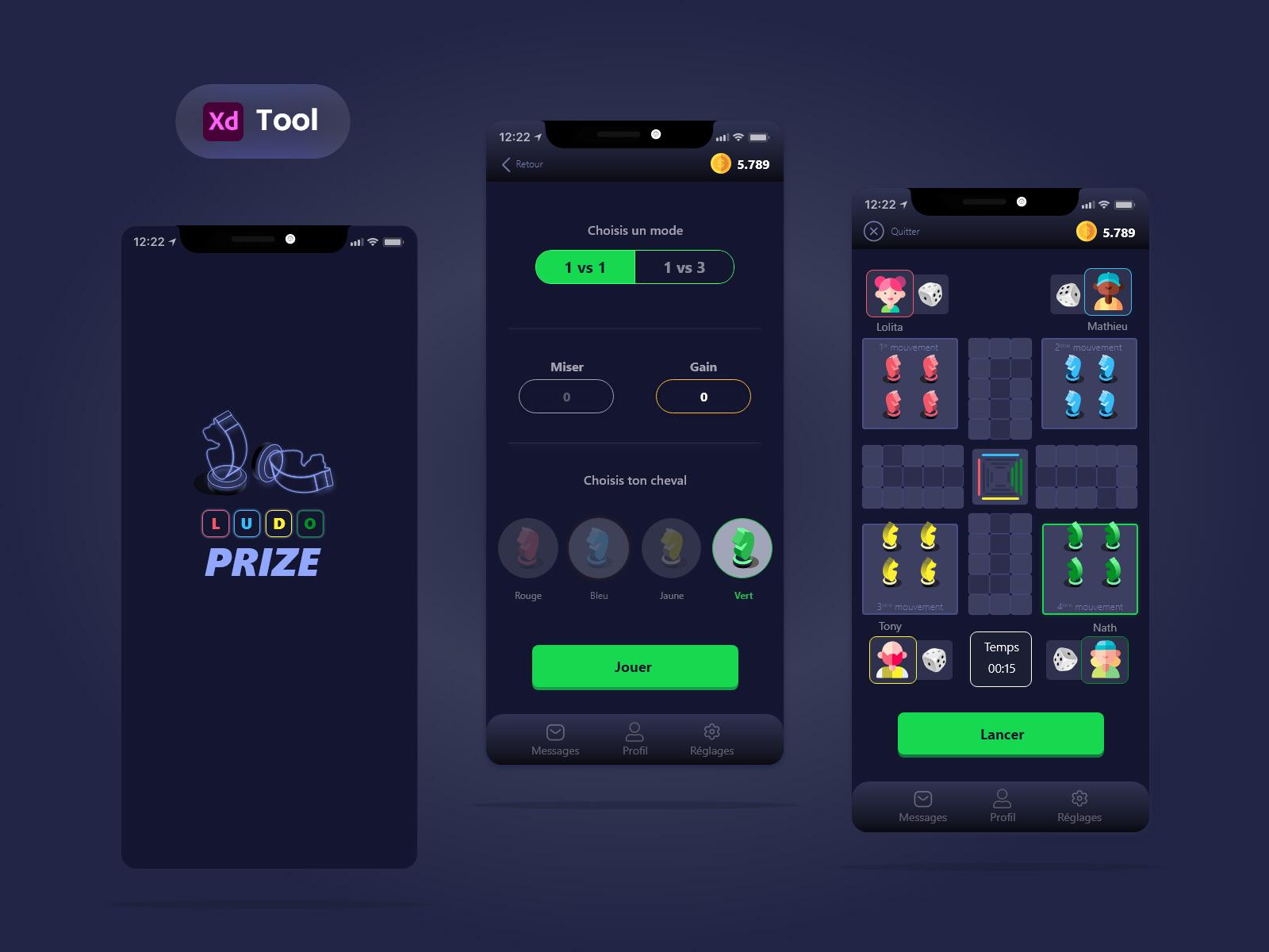 Ludo游戏应用程序设计模板(LudoPrize)插图