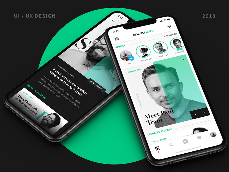 面向设计师的社交媒体App应用程序案例研究模板插图
